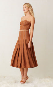 Bec And Bridge Bay Skirt Chocolate