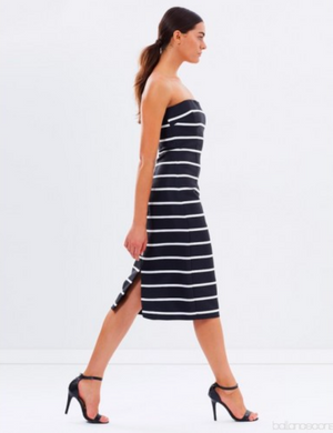 By Johnny Stripe Dress
