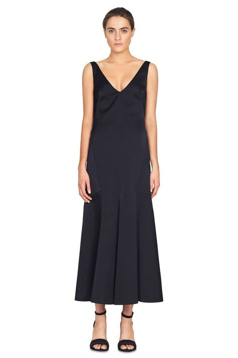 Camilla and Marc Sphinx Vneck Midi Dress