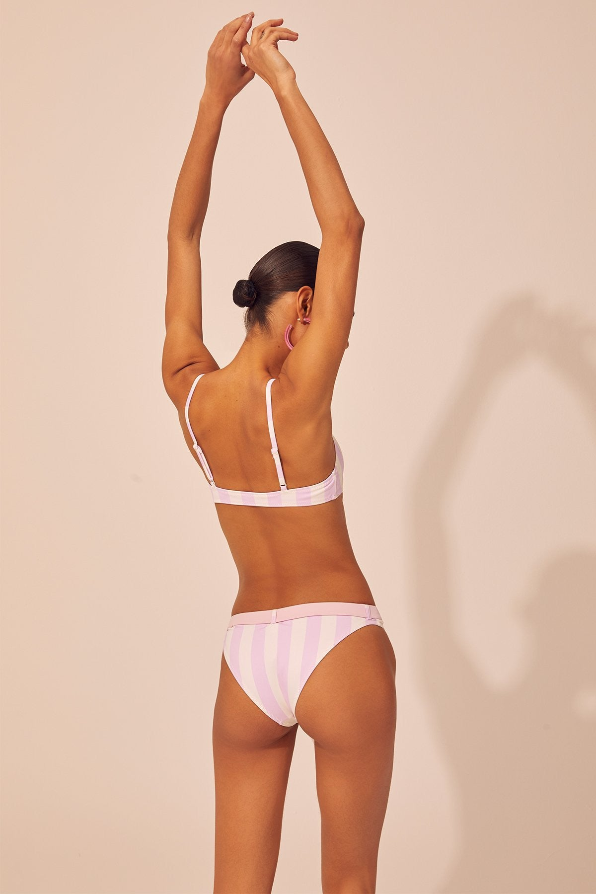 Solid and Striped Rachel Baby Pink Bikini