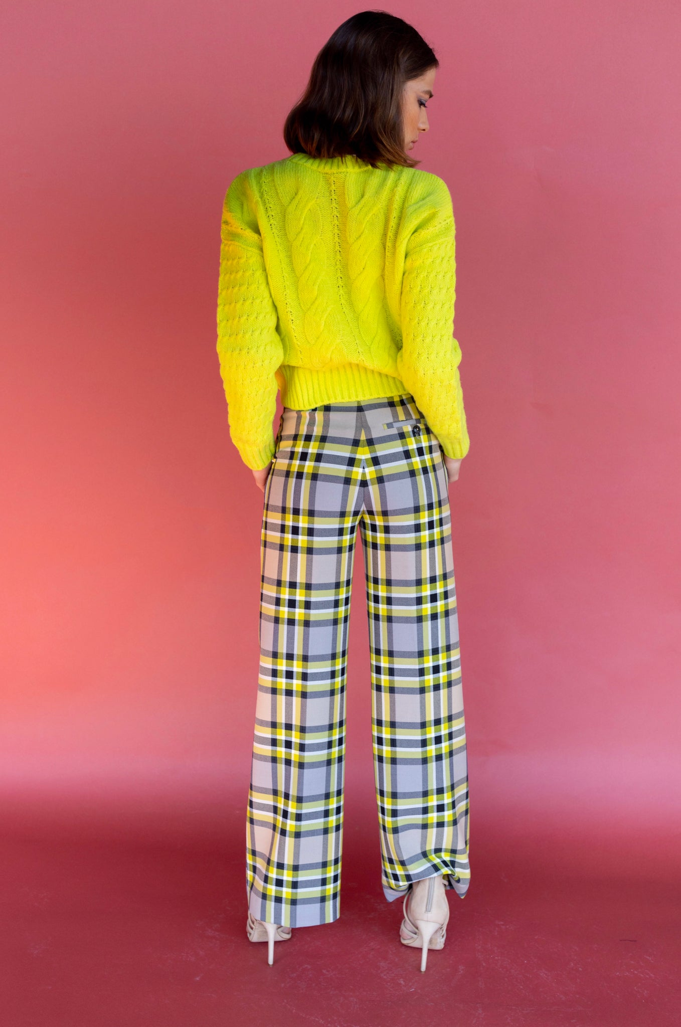 Closed Knit Lemon Peel Sweater