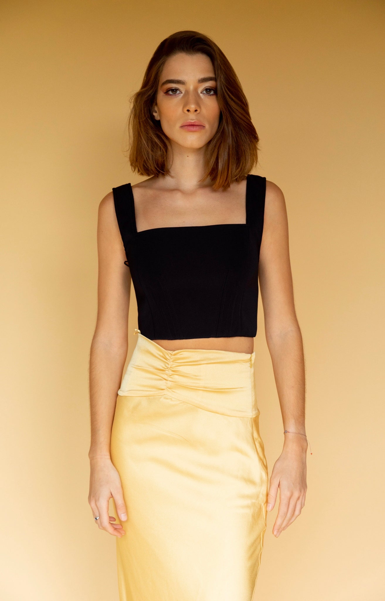 C/Meo Collective Knowing Of This Butter Skirt