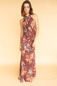 Keepsake Unravel Chocolate Gown