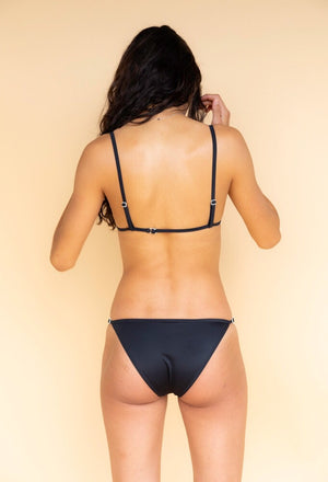Solid and Striped Lulu Black Bikini
