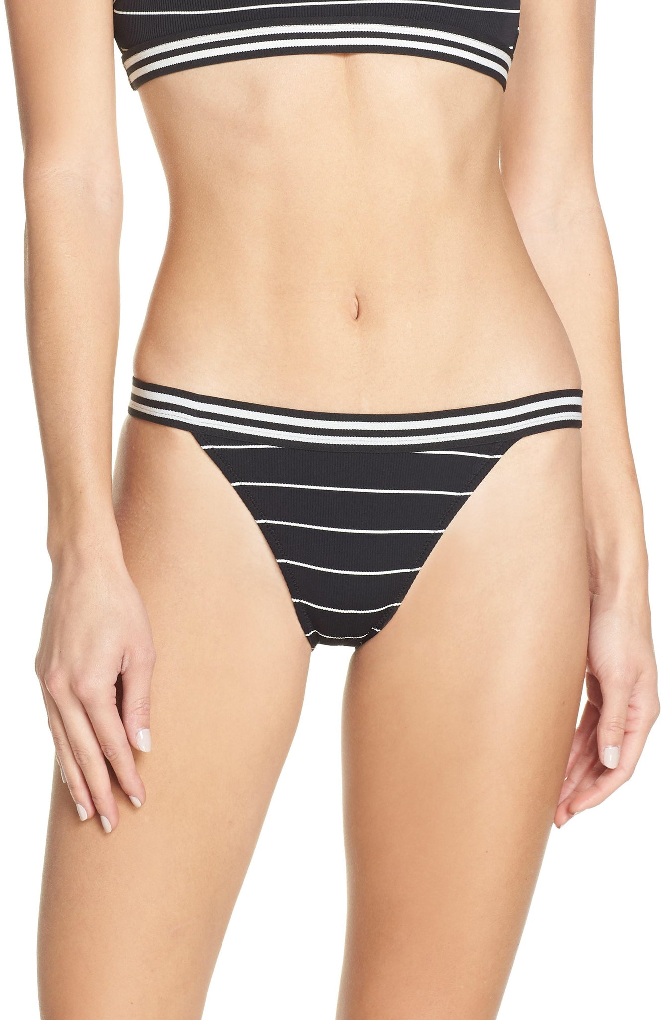 Solid and Striped Stacey Pinstripe Bikini