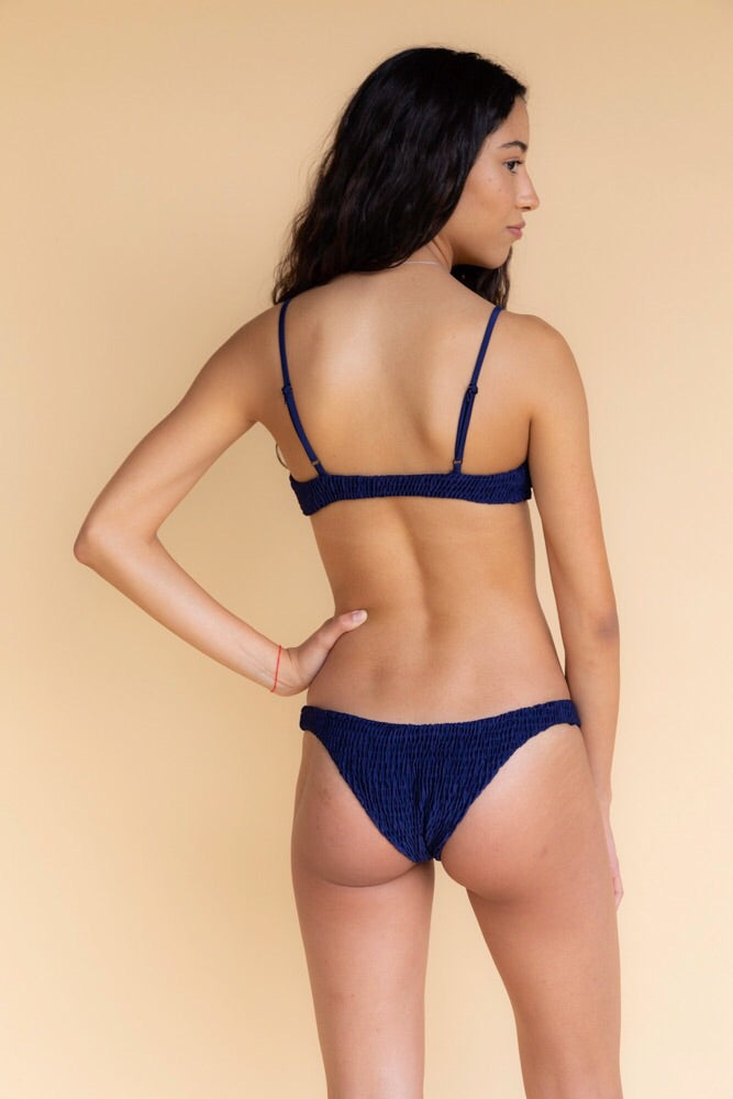 Solid and Striped Midnight Bikini