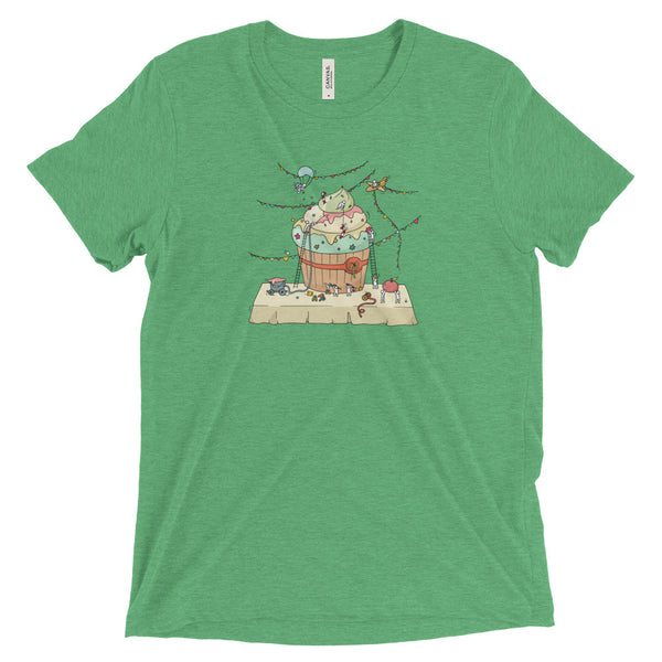 Holiday Cupcake Construction Tee