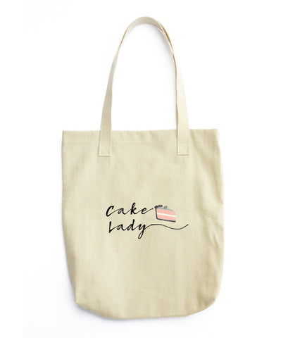 Cake Lady (Tote Bag)