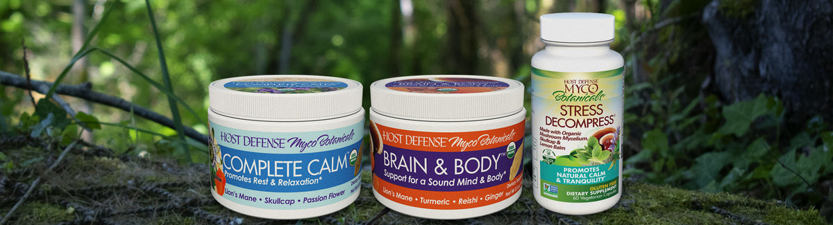 Host Defense® Products for Mood, Stress & Sleep