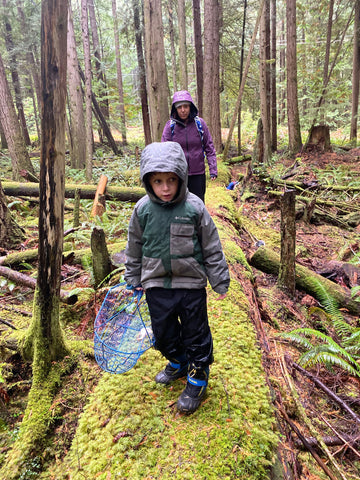 Foraging in the Pacific Northwest