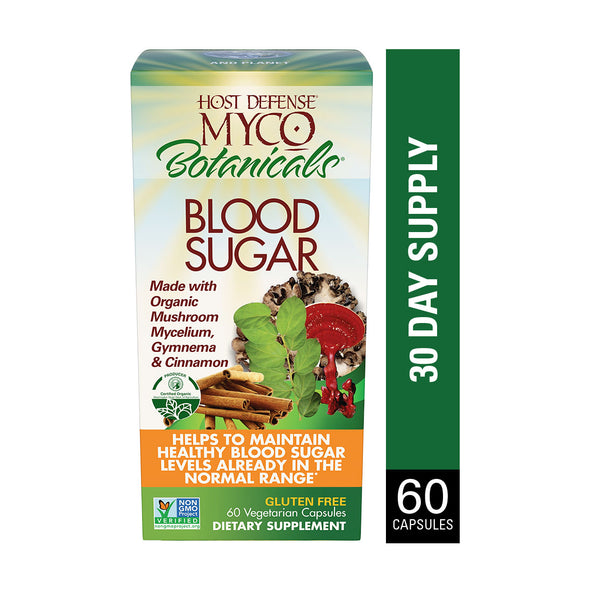 MycoBotanicals® Blood Sugar Capsules