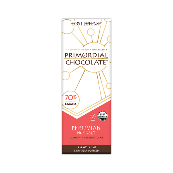 Primordial Chocolate™ - Peruvian Pink Salt - Host Defense Mushrooms