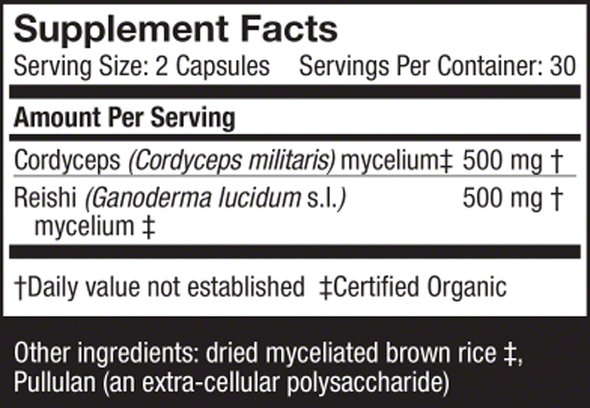 CordyChi® Capsules - Host Defense Mushrooms
