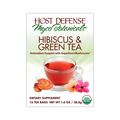MycoBotanicals® Tea - Hibiscus Green Tea - Host Defense Mushrooms