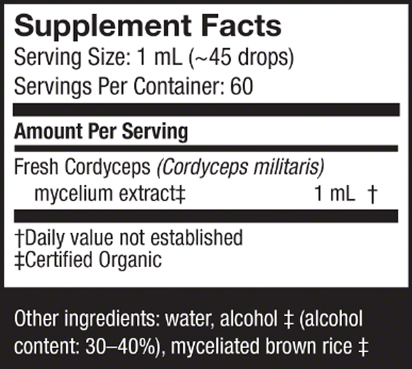 Cordyceps Extract - Host Defense Mushrooms