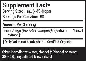 Chaga Extract - Host Defense Mushrooms