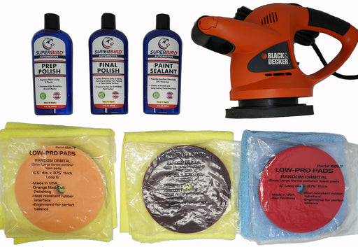 SUPERBIRD Automotive Paint Restoration System - $10.00 donation to Van's Air Force