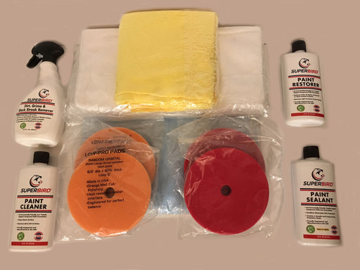 SUPERBIRD Deluxe Aircraft Paint Restoration System - $10.00 donation to Van's Air Force
