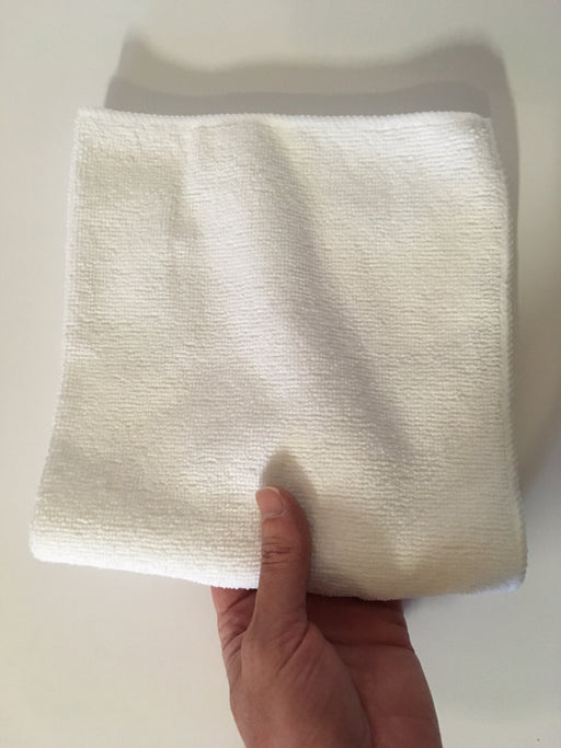High-Quality Microfiber Towel (white - 10 pack)