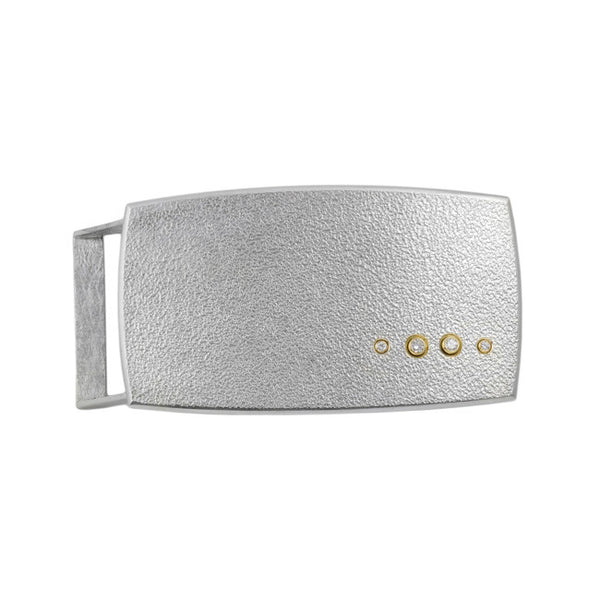 Silver/Gold Diamond Buckle