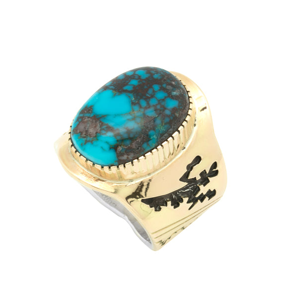 14k Gold and Silver Bisbee Ring
