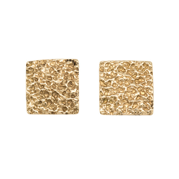 18k Gold Inlaid Earrings