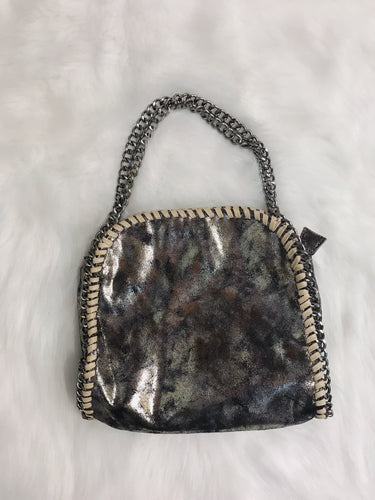 Marbled Metallic Crossbody