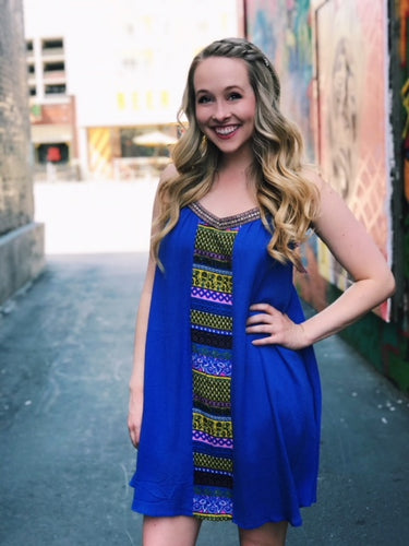Indigo Babe Dress