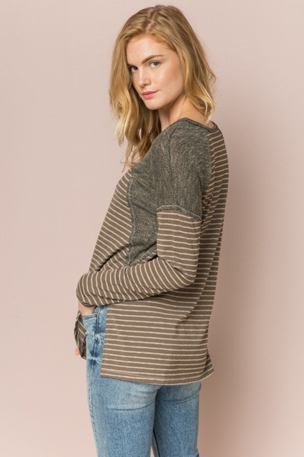 Olive's Sweater Top