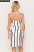 Strappy Striped Dress
