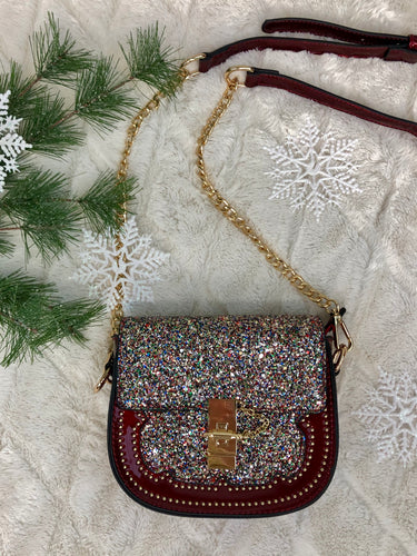 Holiday Glitz And Glam Purse
