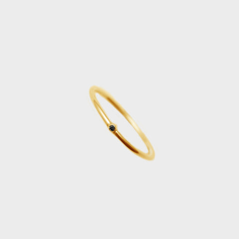 Stardust Ring, Ready to ship - Guld med diamant - Bella Bella Denmark