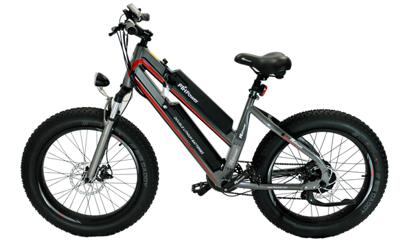 "X2-F24 ABYSS 24"" Fat Tire E-Bike"