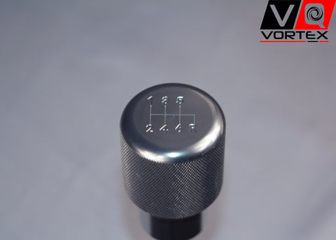 VQ Vortex Weighted Aluminum Shift Knob -Silver- (6 Speed Pattern)
