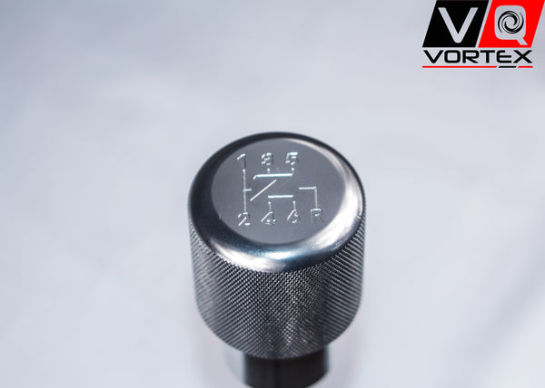 "VQ Vortex Weighted Aluminum Shift Knob -Silver- (""Z"" Logo)"