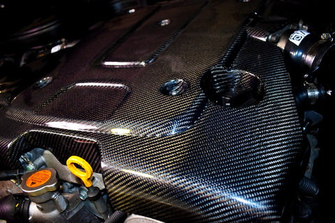 Engine Cover - VQ Vortex Carbon Fiber Engine Cover G37 Sedan/Coupe