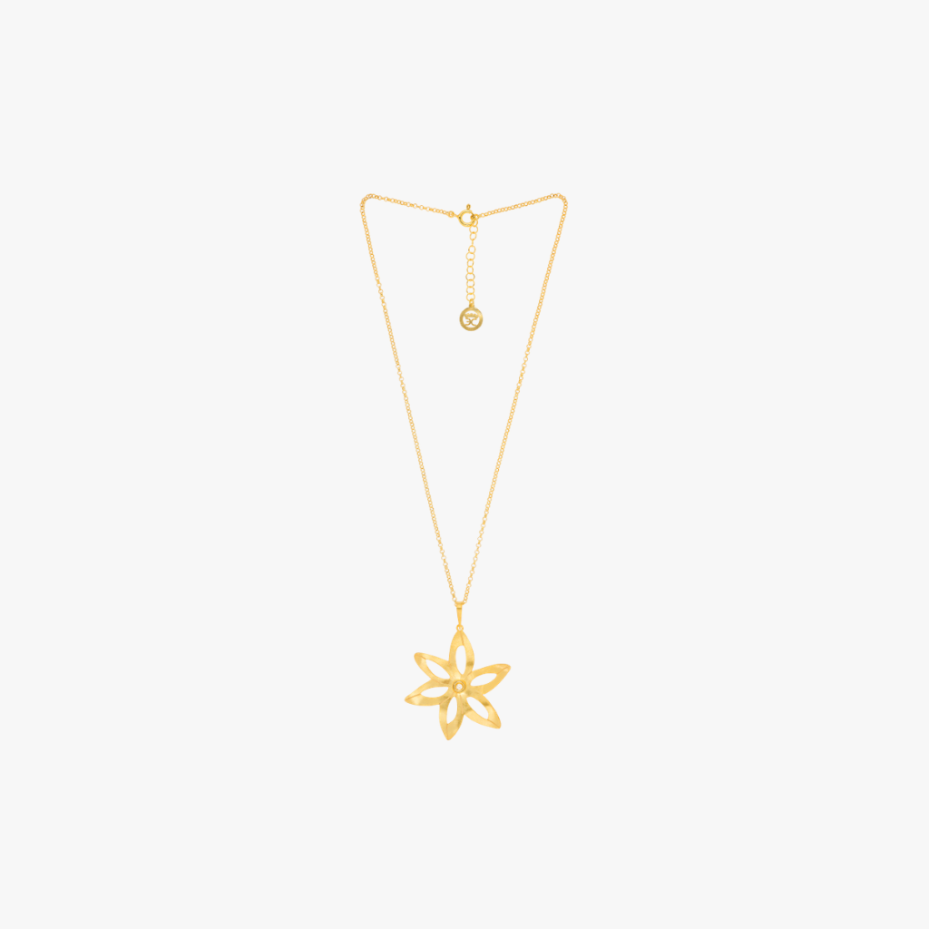 The Florist by Eugénio Campos | Gold Star Neckless