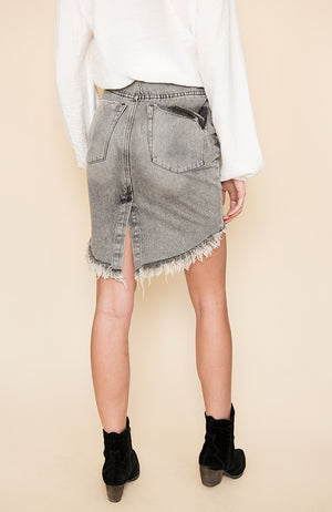 Camden 2020 High Waist Denim Skirt