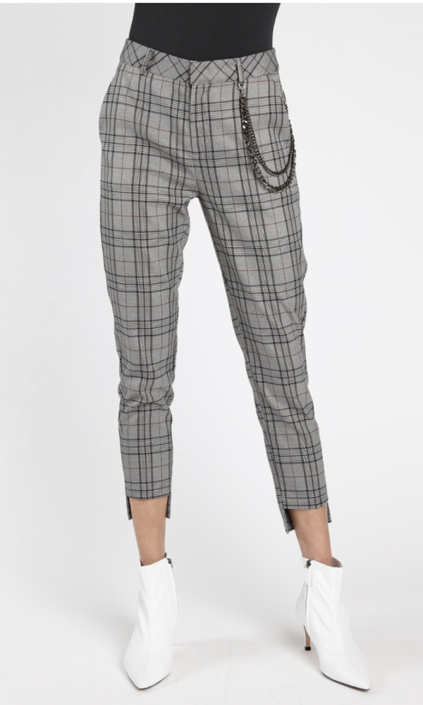 Cross Check Trouser Pants