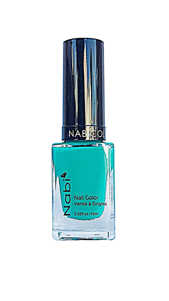 NP100 - Nabi 5 Nail Polish Bright Teal