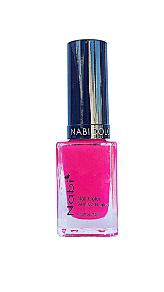 NP105 - Nabi 5 Nail Polish  Neon Hot Pink