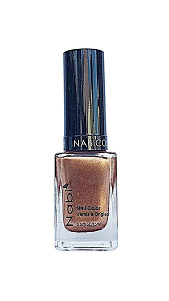 NP107 - Nabi 5 Nail Polish Metallic Cinnamon
