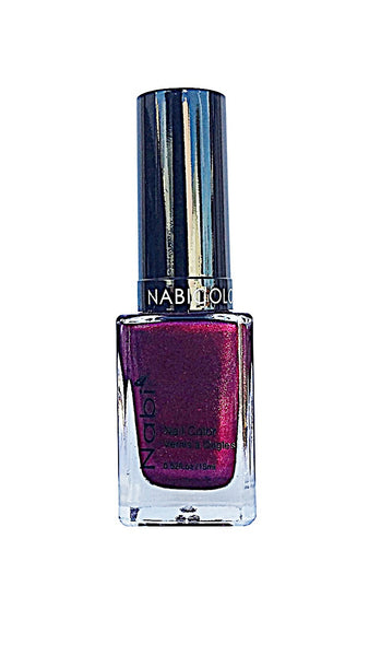 NP108 - Nabi 5 Nail Polish  Metallic Fuschia