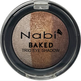 TE10 - BAKED TRIO EYESHADOW BRONZE