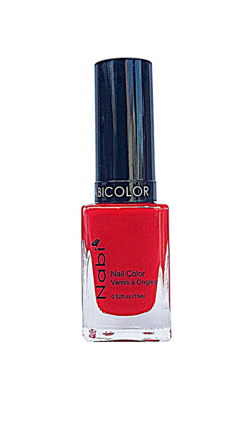 NP118 - Nabi 5 Nail Polish Neon Red II