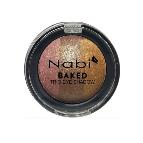 TE11 - BAKED TRIO EYESHADOW CLAY POT