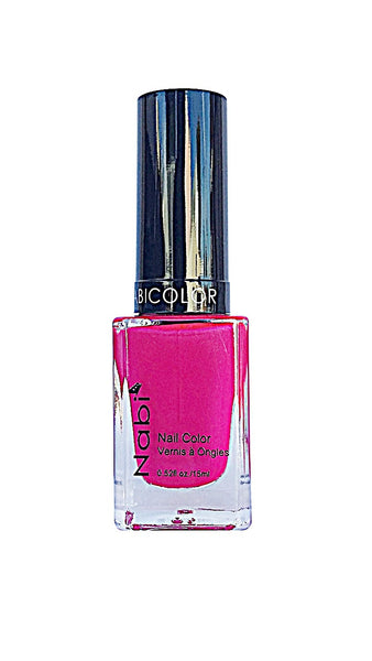 NP128 - Nabi 5 Nail Polish Neon Purple