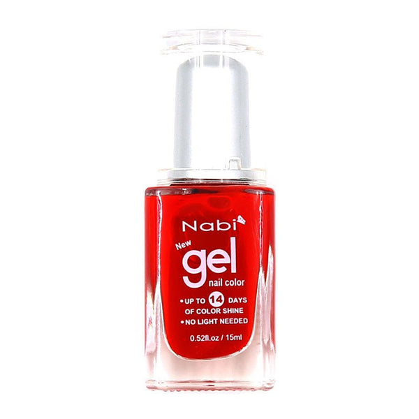 NG13 - New Gel Nail Polish Bright Red