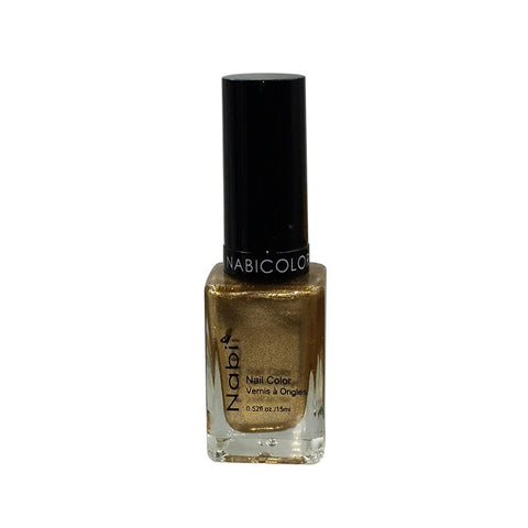 NP146 - NABI 5 NAIL POLISH METALLIC GOLD