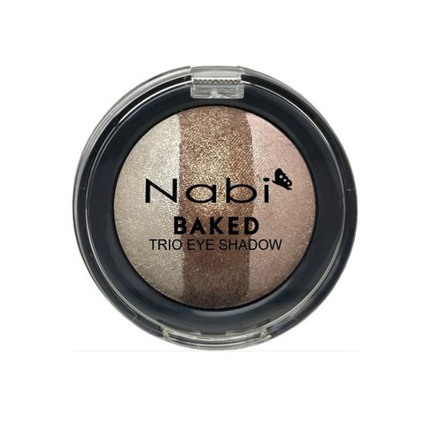 TE14 - BAKED TRIO EYESHADOW D.BROWN